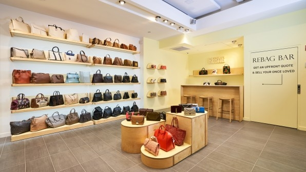 Rebag just opened its first permanent NYC store as the luxury resale market blows up | DeviceDaily.com