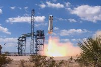 Blue Origin completes its highest-ever test flight