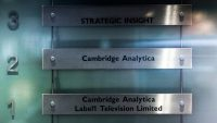 Cambridge Analytica files for bankruptcy in the U.S.