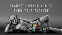 Deadpool is even having fun with metadata on a Trolli candy site