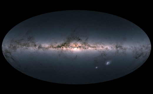ESA releases the most detailed star map yet