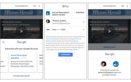 Google, McClatchy Partner For Local News Subscription Service