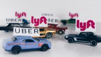Lyft continues to eat into Uber's business