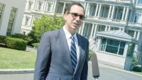 "Steve Mnuchin hopes the DOJ will take ""a serious look"" at internet monopolies"
