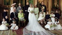 The royal wedding portraits are delightfully traditional
