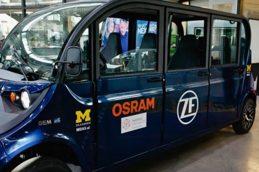 U-M Students, Faculty Building Driverless Shuttle with Industry Help