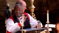 Watch Bishop Michael Curry's rousing royal wedding sermon