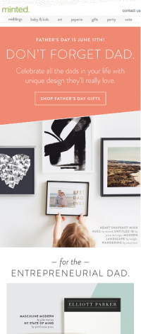 4 Last-Minute Father's Day Email Campaign Ideas