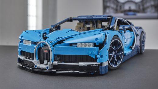 2018 Bugatti Chiron Lego Technic kit is amazingly detailed
