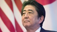 Did Japan's prime minister just shade Donald Trump on Twitter?