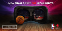 Follow the NBA Finals in high-resolution VR