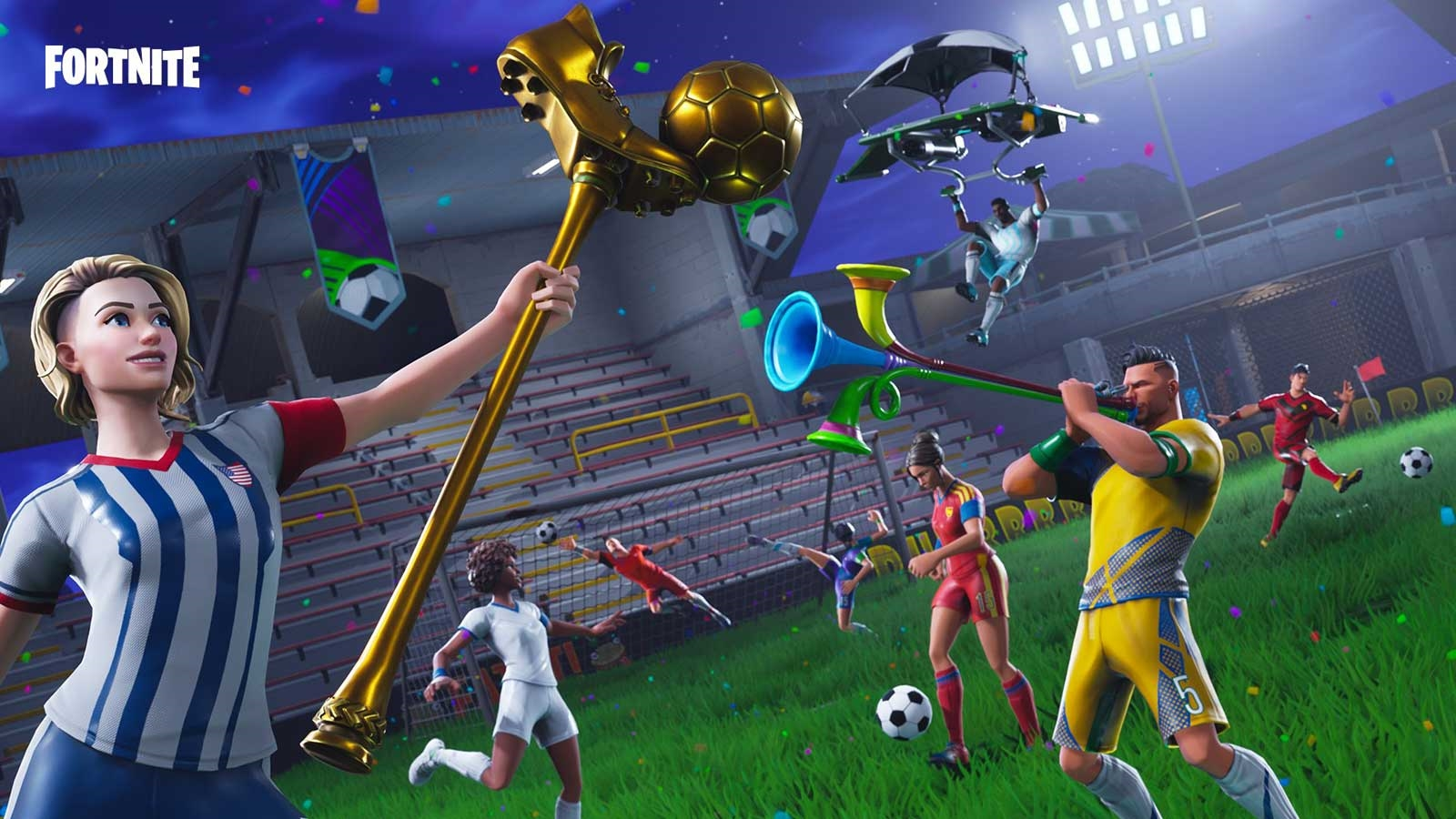 'Fortnite' marks World Cup with stadium and goal scoring challenges | DeviceDaily.com