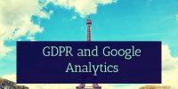 GDPR and Google Analytics