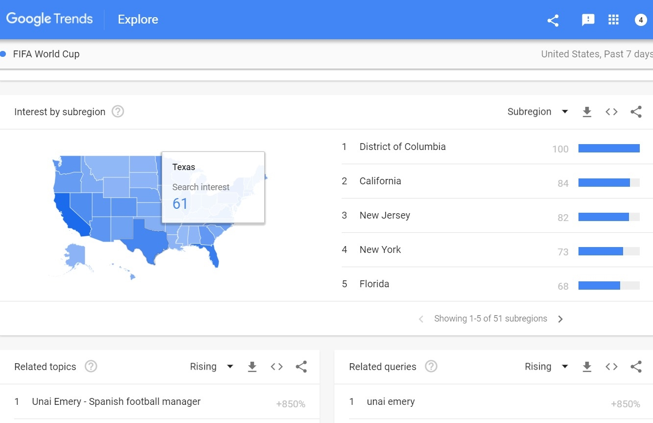 Google Trends redesign focuses on finding stories in the data | DeviceDaily.com