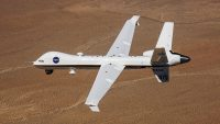 In a first, NASA's Predator drone flew solo in commercial airspace