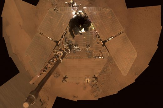 Opportunity rover stops responding during Mars dust storm