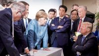 The best reactions to Angela Merkel's viral Trump G7 photo