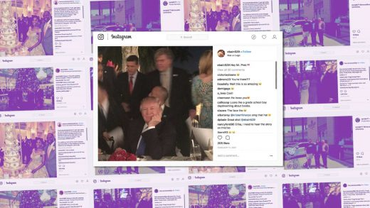 Why Instagram is the best window into Trump-era corruption