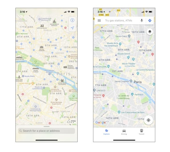 Apple Maps' flaws are keeping me from dumping Google for good | DeviceDaily.com