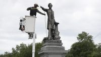 Anonymous donors are dismantling Confederate statues