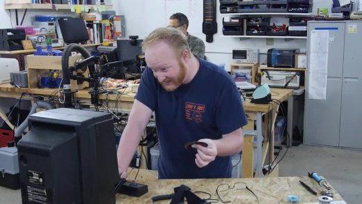 Ben Heck's Vectrex repair