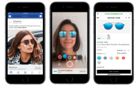 Facebook testing AR ads in the News Feed & new tool to help brands create video ads