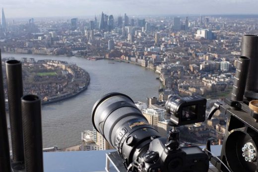 Gigapixel timelapse captures a day in the life of London