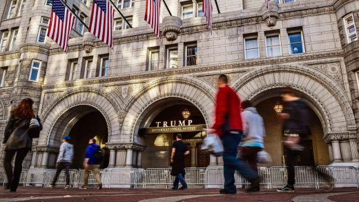 How Trump's D.C. hotel works to help swamp the drain