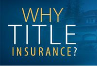 Title Insurance – do not blame somebody else.
