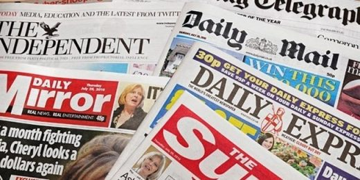 UK Newspapers Take The Fight To Google And Facebook