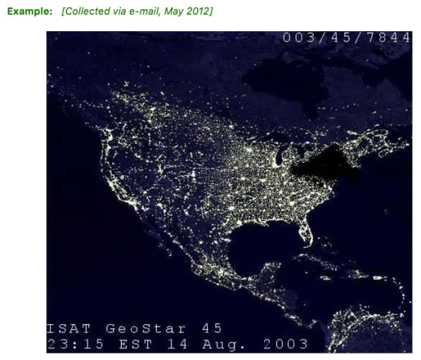 A famous fake photo from the great 2003 Northeast Blackout is still claiming victims | DeviceDaily.com