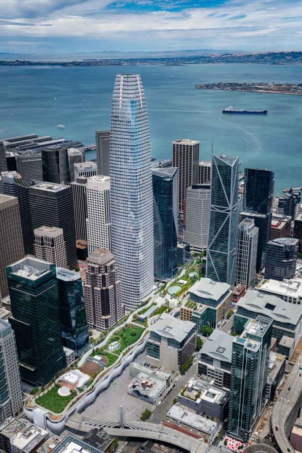 A first look at San Francisco's sensational new elevated park   DeviceDaily.com