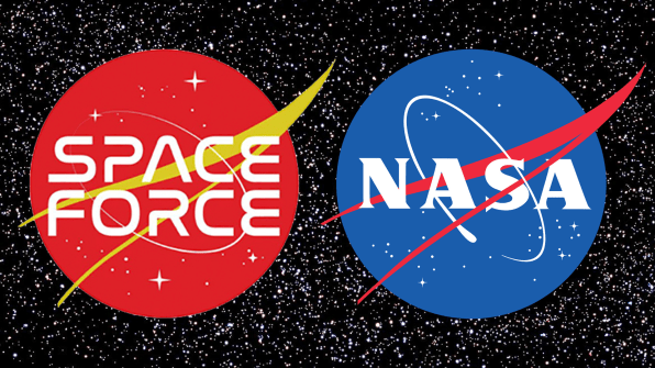 Trump's Space Force logos are just as dumb as Space Force | DeviceDaily.com