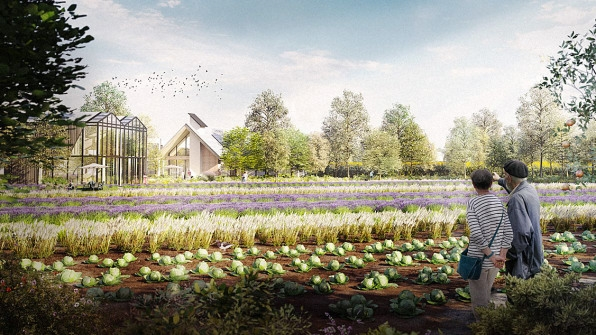 """The world's first """"high-tech eco village"""" will reinvent suburbs 