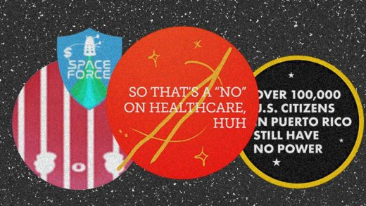 Designers are hilariously mocking Trump's Space Force logos
