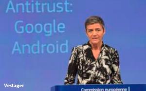 Europe Hits Google With $5 Billion Android Antitrust Fine