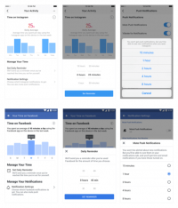 Facebook & Instagram introduce new user tools to track time spent on the apps