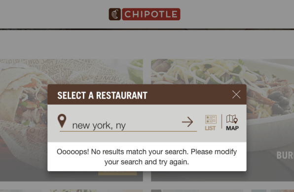 Free guacamole fail! Chipotle's site and app are having technical difficulties   DeviceDaily.com