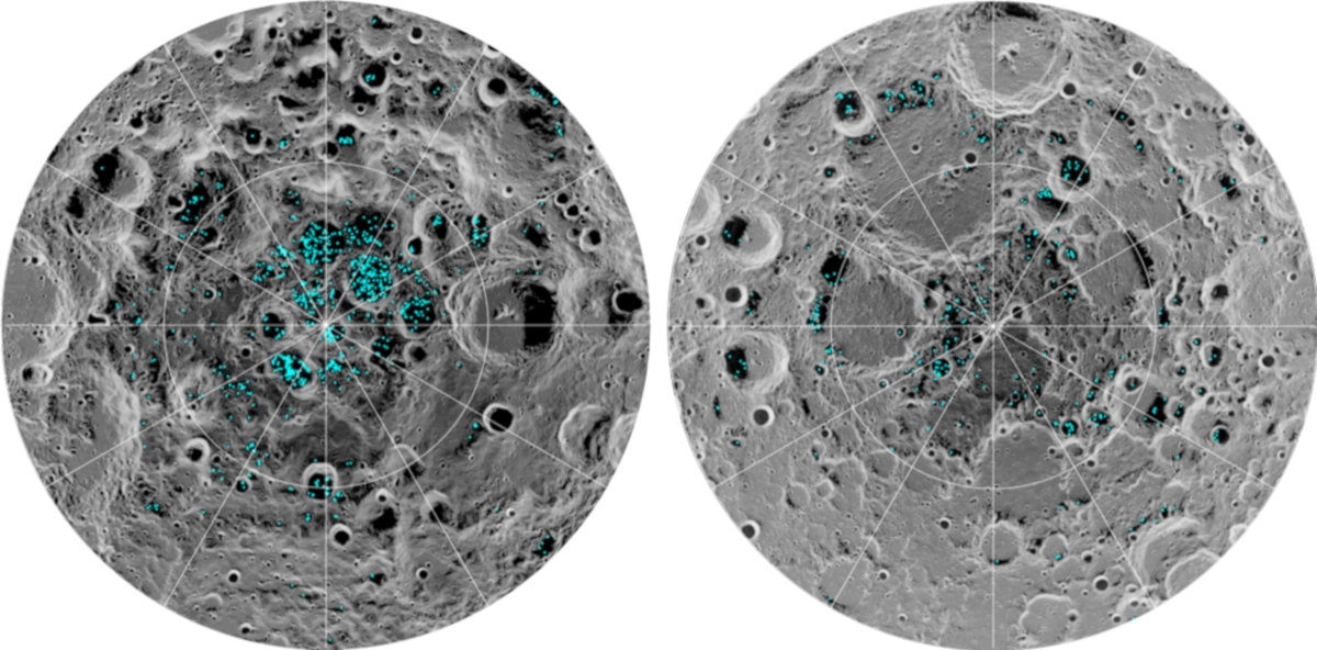 NASA confirms the presence of ice at the moon's poles | DeviceDaily.com