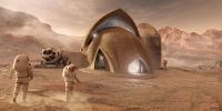 NASA contest finalists show off their Mars habitat models