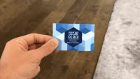 This AR business card is way cooler than your flimsy card