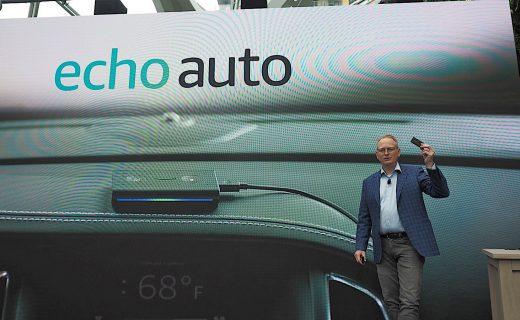 Amazon's Echo Auto puts Alexa in any car