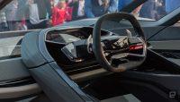 Audi's PB 18 E-Tron is a supercar spaceship