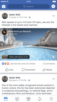 Facebook extends video Ad Breaks to 21 more countries
