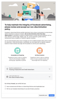 Facebook removes 5K ad targeting filters to keep advertisers from discriminating against ethnic & religious groups