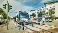 Make way for the world's first autonomous tram