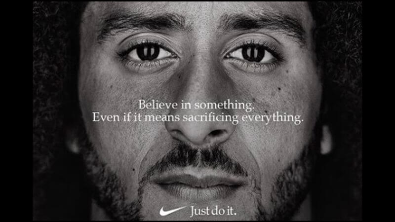 Report: Nike's sales jump 31% in wake of Kaepernick ad campaign | DeviceDaily.com