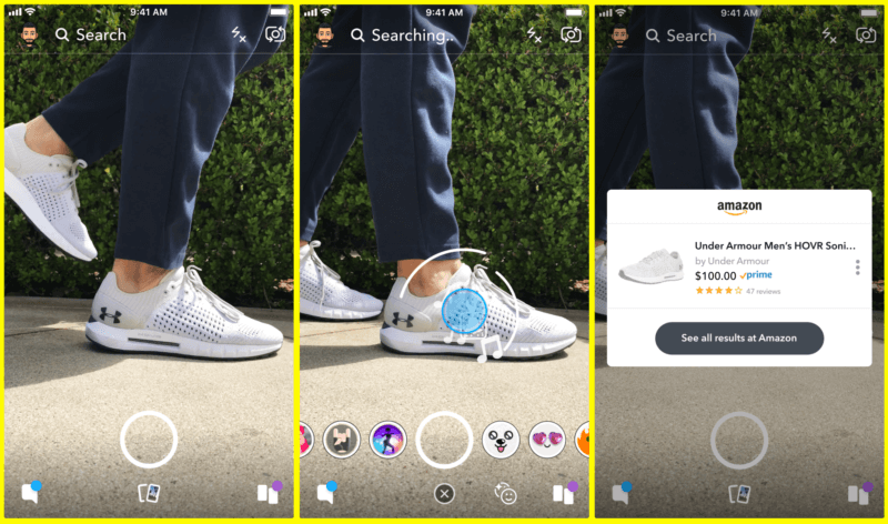 Snapchat partners with Amazon to let users shop from pictures | DeviceDaily.com