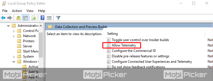disable compatibility telemetry windows 10