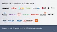 Qualcomm is expecting at least two 5G flagship smartphones in 2019